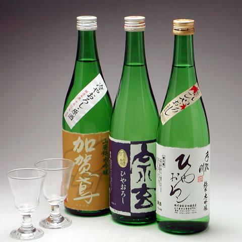 ひやおろし吟醸酒三種セット 5,250円