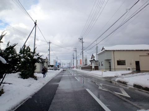 20100204雪の国道