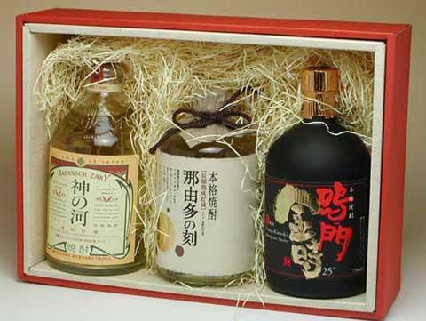 【麦・蕎麦・芋】本格焼酎 三種飲み比べセット 4,380円