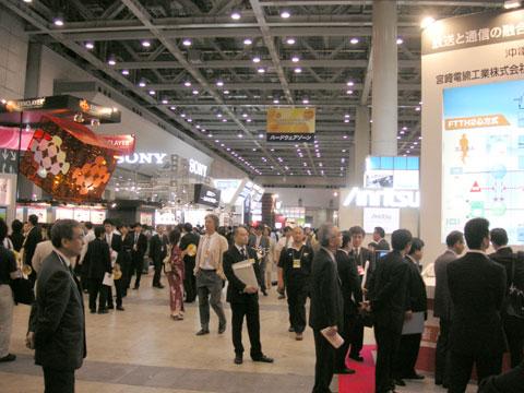 ケーブルテレビショー2007 会場風景