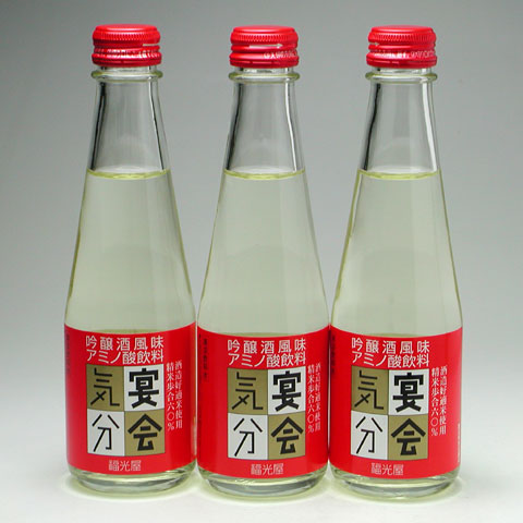 ノンアルコール清酒 吟醸風味アミノ酸飲料 『宴会気分』 200ml 260円