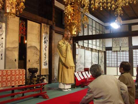 大安禅寺の名物和尚さん(大和和尚さん)