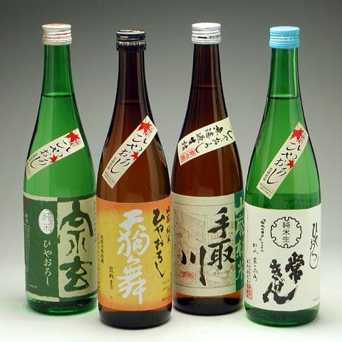 石川ひやおろし純米酒4種セット 5,800円