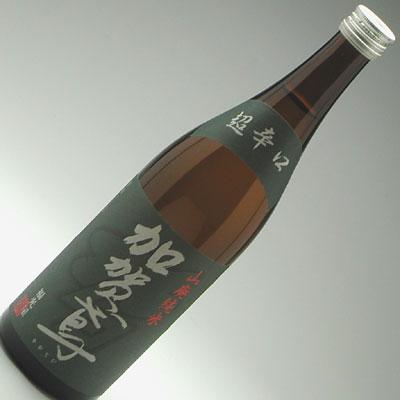 加賀鳶 山廃純米超辛口 720ml 1,365円