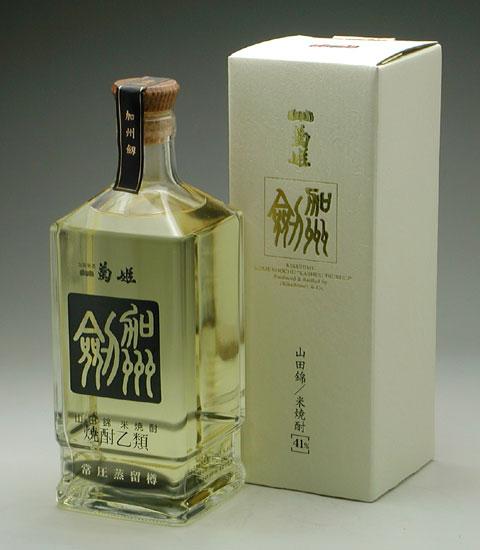 本格米焼酎 菊姫 加州<剱/つるぎ>常圧樽貯蔵 5,000円