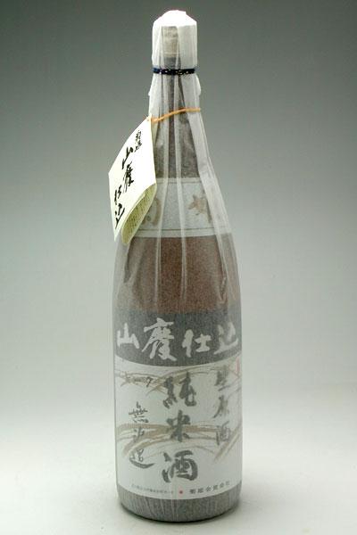 菊姫 山廃純米 無濾過生原酒 1800ml 3,500円