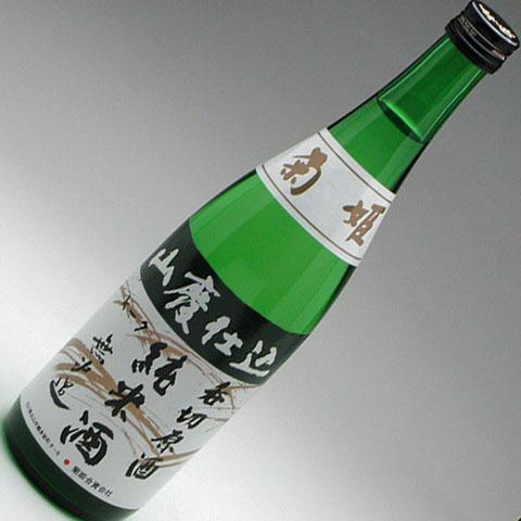 菊姫 山廃純米無濾過 呑切原酒 720ml 1,800円