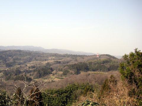 倶利伽羅さん山頂からの眺め