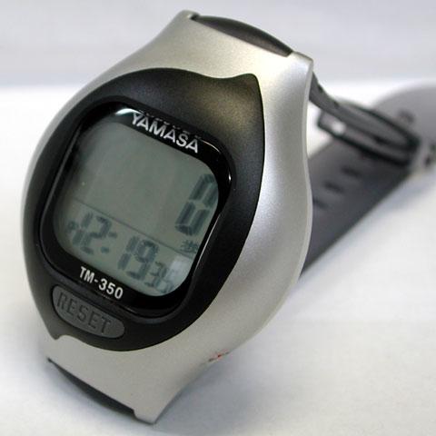 腕時計式の万歩計
