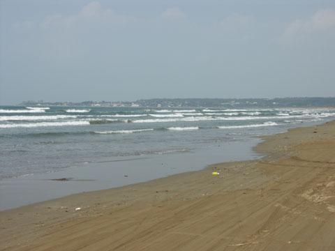千里浜(ちりはま)なぎさドライブウェー