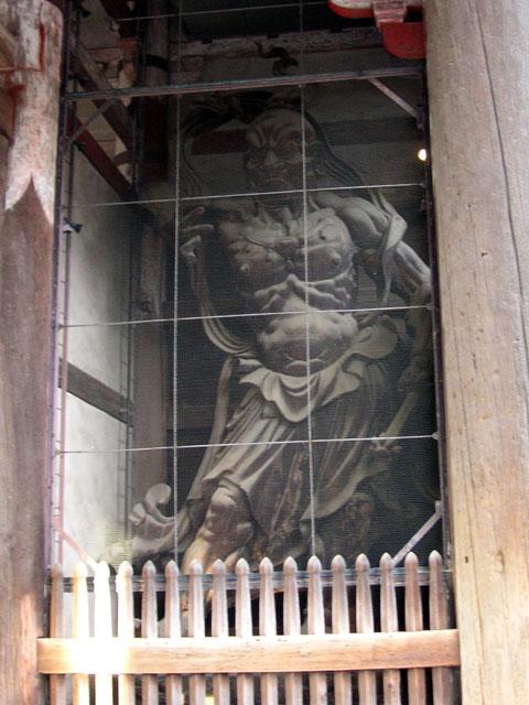 東大寺の南大門の仁王像