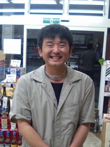 川原伸章君 笑顔が素敵です
