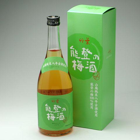 能登の梅酒 720ml 1,575円 / 1800ml 2,730円