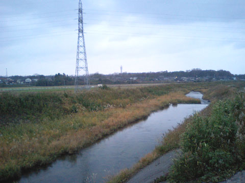 付近を流れる大海(おおみ)川