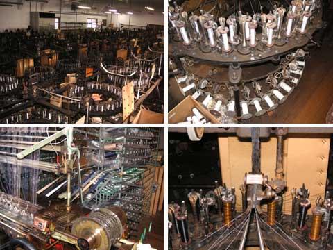 シオタニさんの工場内部及び機械
