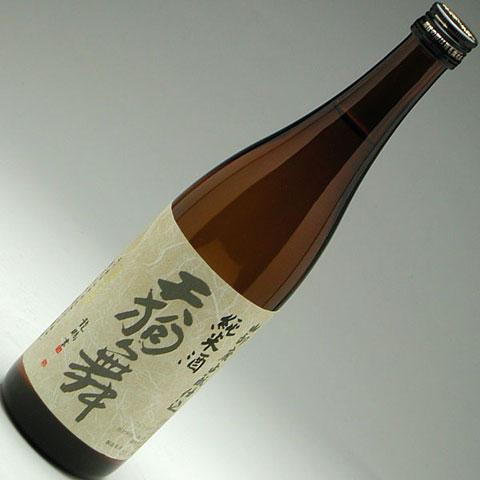 天狗舞 山廃純米 720ml 1,400円<br />