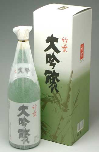 能登町 数馬酒造さんの 竹葉 大吟醸 1800ml 5,250円