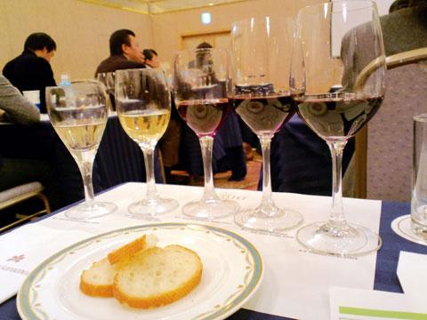 ジネステ社の5種類のワイン